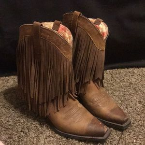 Authentic leather cowboy/girl boots